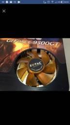 Placa de vídeo Gforce 9500gt 1gb 128bits