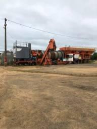 Usina de asfalto quente (CBUQ)