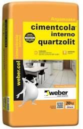 Argamassa AC1 Quartzolit 20kg (uso interno) Imperdível