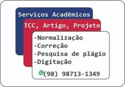 Serviços - normatização trabalhos acadêmicos