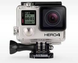 Vendo GoPro Hero 4. ORIGINAL. Com todos os acessórios.