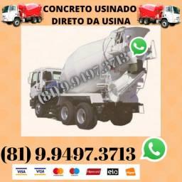 Concreto Usinado Direto da Usina Aceitamos ConstruCard (Pagamento na Entrega)
