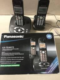 Panasonic com secretaria e ramal