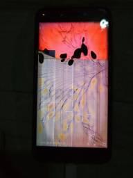 Zenfone asus Live com o display queimado