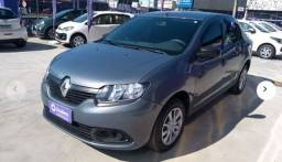 Renault* - Logan* Authentique* 1.0 12v Completo Ano modelo 2018