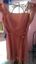 Vestido zarak rosa