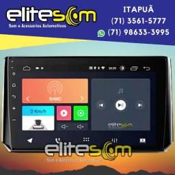 Central Multimídia Onix Plus 2020 Android Tela 10 pol. instalada na Elite Som