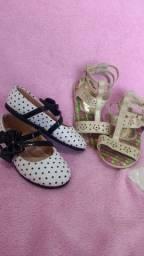 Sapatilha e sandália menina linda