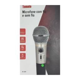 Microfone 2 Em 1: Com Ou Sem Fio VHF com Echo Level