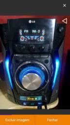 Som LG X Metal Bass 6 caixas Bluetooth