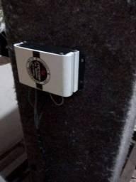Caixa de Som com Amplificador Usado