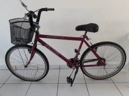 Bicicleta Caloi alumínio supra