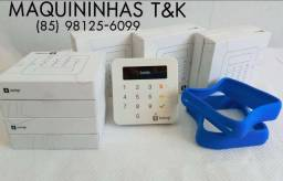 Maquininha Sumup Top via Bluetooth - Promoção Taxa 0% - Entrega Grátis