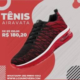 Tênis para corrida e caminhada e academia!.