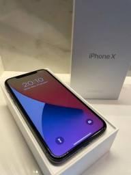 iPhone X 64gb com caixa e todos acessórios