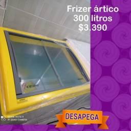 Freezer Expositor ártico 300 litros novo entrega imediata chame no zap ou ligue