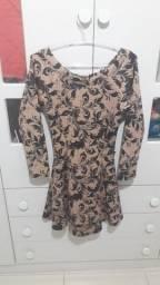 Vestido de manguinha