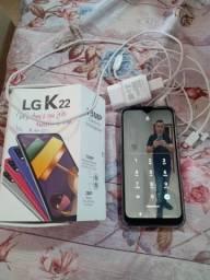 LGk22 sem nenhum quebrado nem trincado