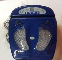 Massageador de pés com vibrações e infra vermelho