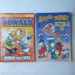 Almanaque Donald e seleção disney