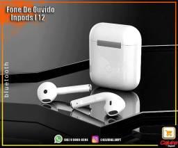 Fone De Ouvido Bluetooth Inpods I 12 Touch t14sd4sd21