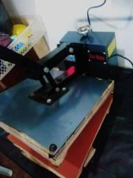 Máquina de estampa estampa mais de 300 inté