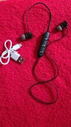 Fone de ouvido Bluetooth (Novo)
