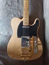 Guitarra heavens miss t com ponte bigsby