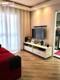 Belo Apartamento(SEMI-MOBILIADO) de 49m² 02 Dormitórios Sacada 01 Vaga de Garagem no Bairr