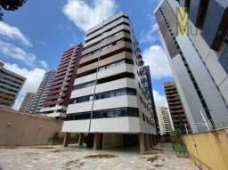 Apartamento com 3 dormitórios para alugar, 150 m² por R$ 1.550,00/mês - Meireles - Fortale