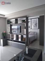 Apartamento de 1 quartos para locação, 54m2