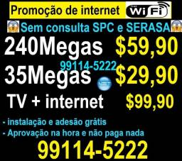 mega promoção de internet