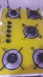 Fogão cooktop d&d metal