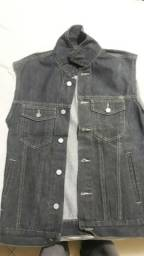 Jaqueta/Colete jeans