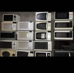 Vários microondas pra vender