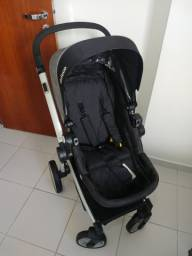 Carrinho de Bebê Dzieco Zolly + Bebê Conforto Cocoon Preto