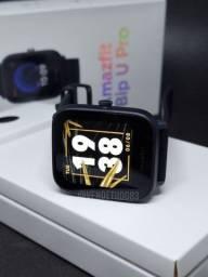 Smartwatch Amazfit Bip U Pro 60 modos de esporte oximetro gps
