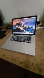 Macbook Pro i7, 10GB, ssd 480 com detalhes
