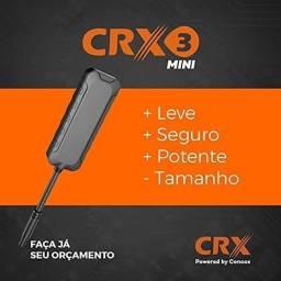 Rastreador Veicular CRX3 Mini Homologado Anatel Instalado com Site e APP
