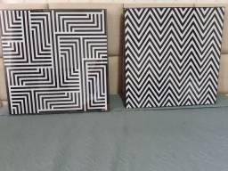 2 lindos quadros geométricos