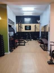 Studio\ Academia completa Aparelhos dumbell halter barra montada