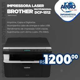 Vende-se Impressora brother dcp 1512 multifuncional laser\usada