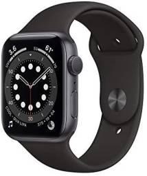 Apple watch space gray 44m novo