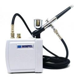 Mini Compressor para Aerógrafo Bivolt Wimpel