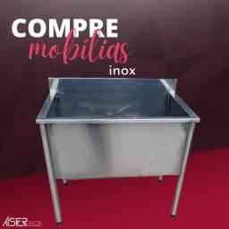 Tanque/Banheira de inox
