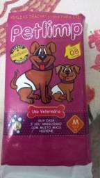Vendo Petlimp - fraldas descartáveis para pet- uso veterinário