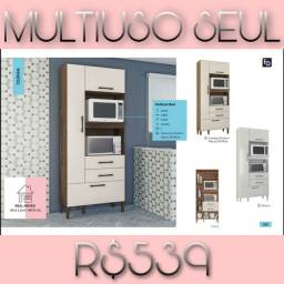 ARMÁRIO MULTIUSO SEUL (para microondas e forno)