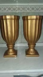 Vasos Romanos dourados