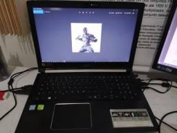 Vendo Notebook i7 Acer 15,6'' usado (com placa de vídeo)