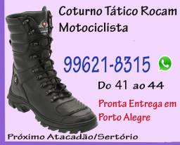 Coturno Motociclista Selten . Pronta Entrega      em Porto Alegre